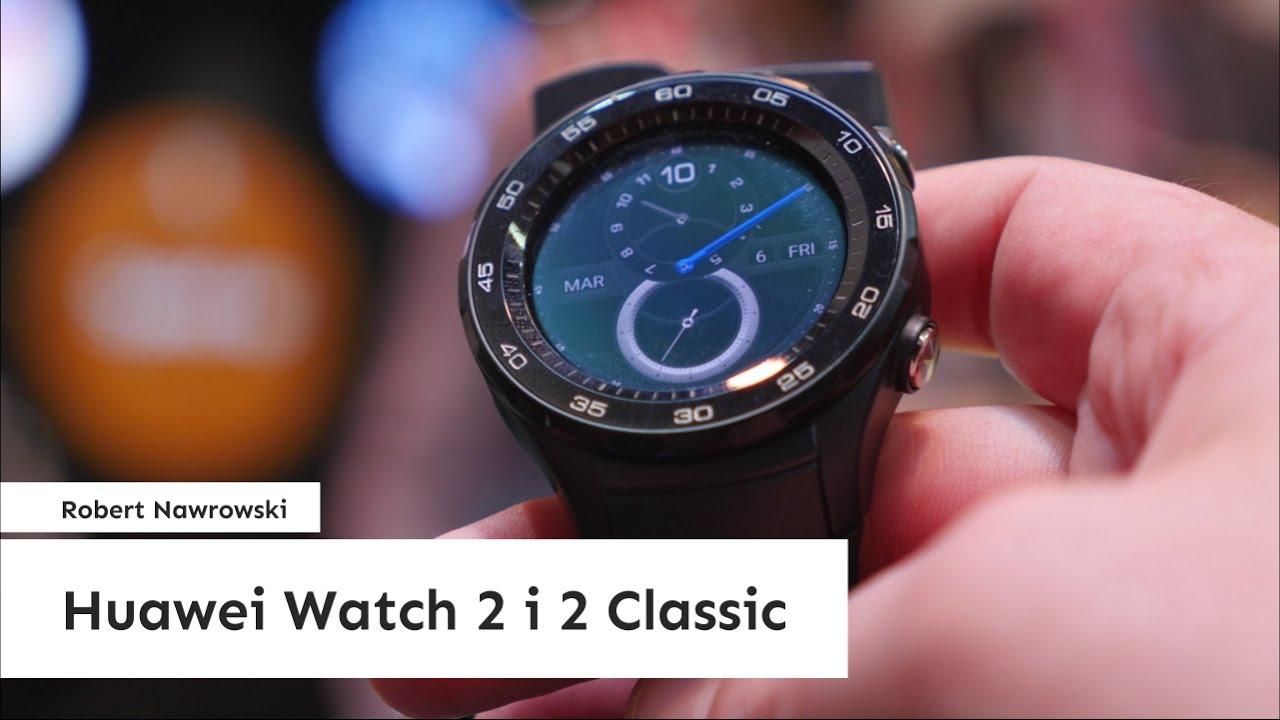 huawei watch 2 classic. huawei watch 2 i classic pierwsze wrażenia #mwc2017 | robert nawrowski