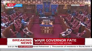 Breaking News 11-member Senate Committee Recommends Removal Of Wajir Governor Mohamed Abdi