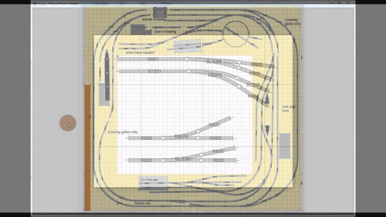 Model Railway Layout Part 1 Preparation Planning Youtube