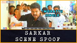 Morattu Single FB Live | Sarkar Scene Spoof ( Maddy Version )  | Mass Maddy | P.K.Maddy