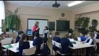 Видео с открытого урока по татарской литературе