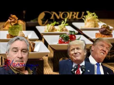 Robert de Niro nunca permitirá que Trump _ Entre en uno de sus restaurantes.