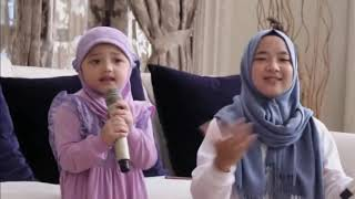 Nissa Sabyan Teach Deen Assalam to Small baby