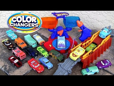 10 Color Changers Cars Hot Wheels Switch N Spray DC