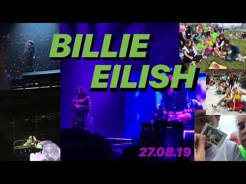 КОНЦЕРТ BILLIE EILISH в Москве💚 Билли Айлиш 27.08.19