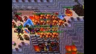 Tibia Calvera War Curse vs Exana Mort