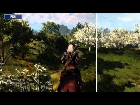 The Witcher 3: PC vs PS4 (Graphics comparison)