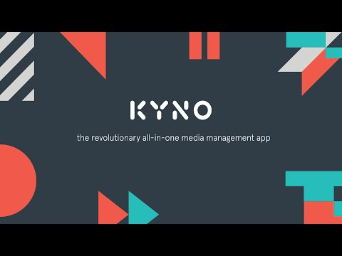 Kyno: The revolutionary all-in-one media management app