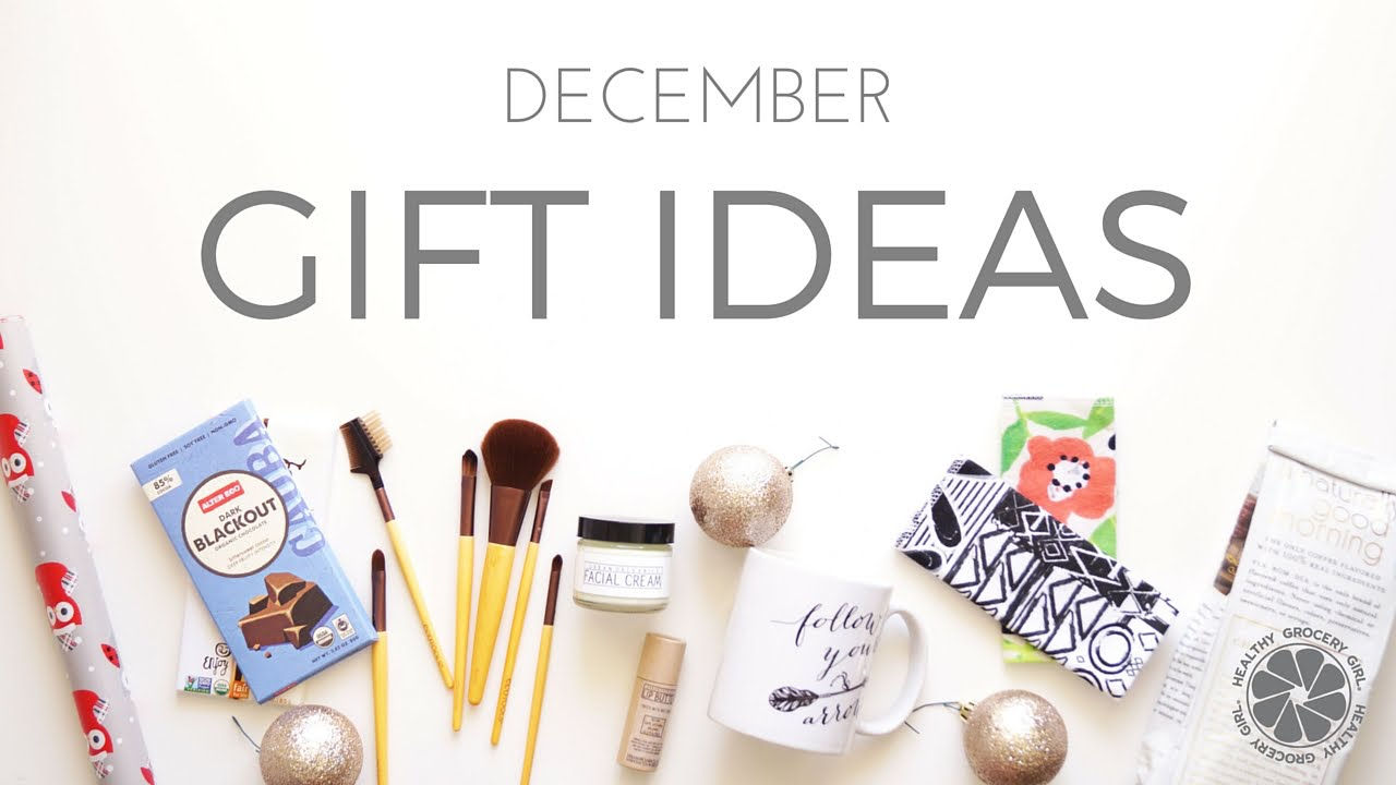 Christmas Gift Ideas Under $25, $50 & $100 | Ideas for Healthy Gifts ...