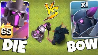 "THE FINAL BATTLE!! Will He BOW or BREAK the PEKKA!?! ""Clash Of Clans"""