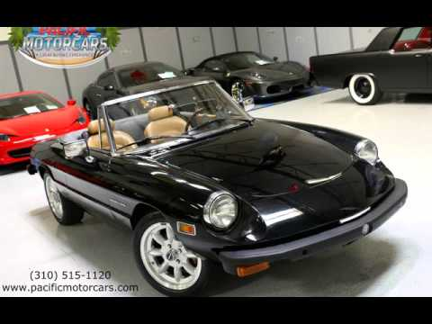 Alfa Romeo Spider Veloce For Sale In Gardena CA YouTube - Alfa romeo spider 1974 for sale