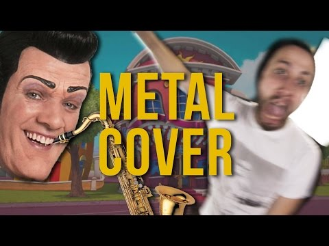 We Are Number One but it's a stupid metal...