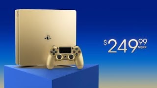 Wow! The Gold 1TB PS4 For $250 Is A Great Deal - Limited Time Only!