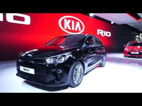 Nouvelle Kia Rio Mondial De L Auto De Paris Youtube