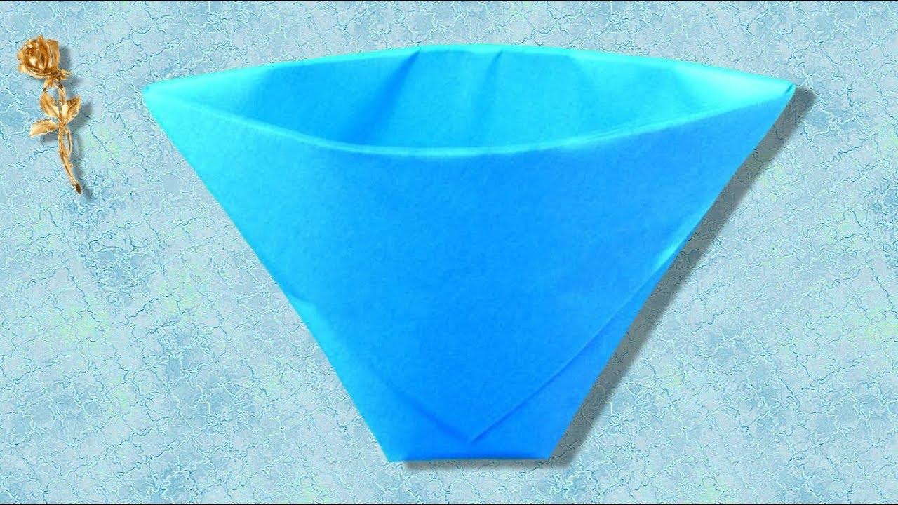 origami facile verre
