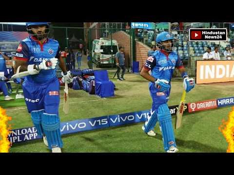 IPL 2019 | Rishabh Pant और Shikhar Dhawan RCB की धज्जियां उड़ाने को तैयार