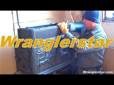 How To Install A Wood Stove part 1