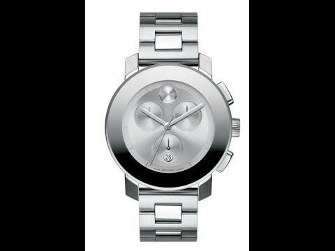 be93a0560 Movado Bold Chronograph Watch - MB.01.3.14.6025 - YouTube