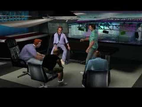 William Fichtner in Grand Theft Auto: Vice City (part 2)