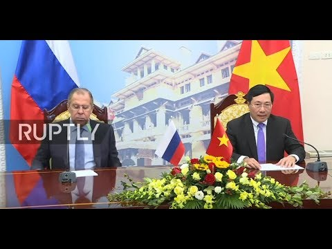 Live: Lavrov to hold joint press conference with Vietnamese FM in Hanoi