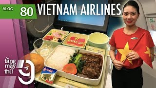 Flying to Dubai for Asian Cup match with chartered Airbus A350 of Vietnam Airlines