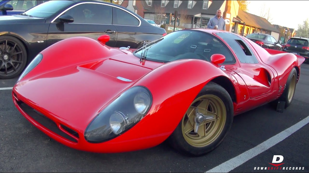 ls ferrari 330 p4 replica - start-up // sound - youtube