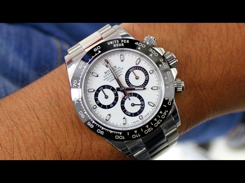 Thumbnail: Rolex Unboxing – New Daytona Ceramic 116500LN