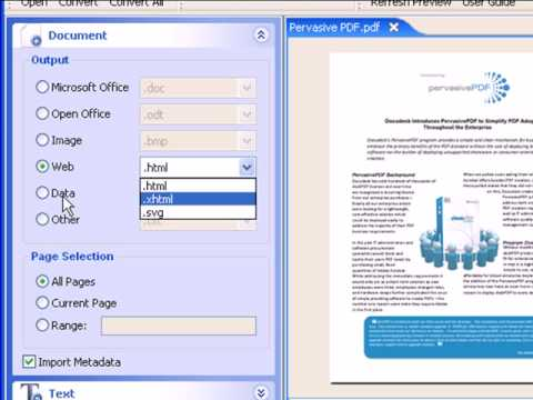 How To Convert PDF To Word, PDF To Excel, And PDF To HTML
