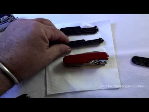 SAK Ferro Rod Trick - How to Easily Upgrading a Victorinox S