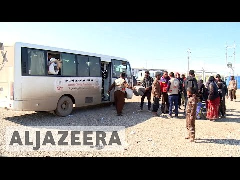 As fighting intensifies, 10,000 civilians flee Iraq's Mosul daily