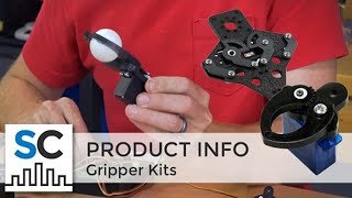Actobotics® Gripper Kits - overview of 4 versions
