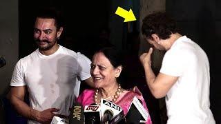 Aamir khan cries hearing mothers reaction on secret superstar movie