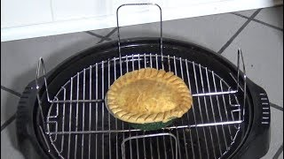 Frozen Chicken Pot Pie, NuWave Oven Heating Instructions, Part 2/3