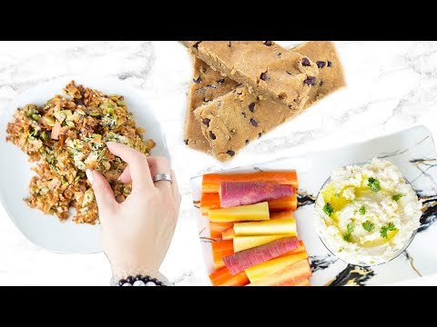 5 HEALTHY SNACK IDEAS! EASY AND QUICK PALEO RECIPES!
