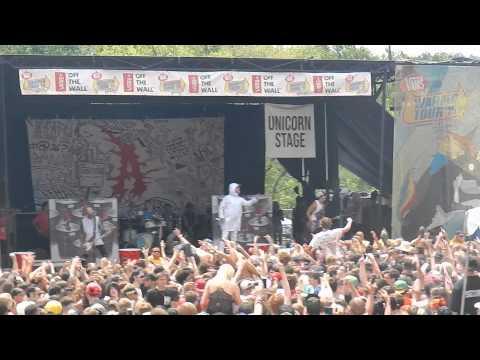 Attila About That Life Live Warped Tour 2015 Scranton, PA