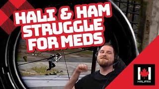 Halifax \u0026 hambinooo battle for the mountain on Erangel! - PUBG Duos Gameplay