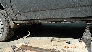 Стоит ли ремонтировать пороги \ Сколько стоит ремонт порогов