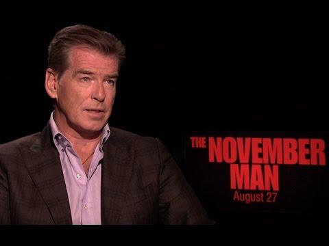 The November Man Trailer & Q&A: Pierce Brosnan & Olga Kurylenko Kick Ass in the New Action Flick