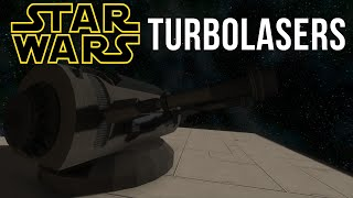 Space Engineers Mods | STAR WARS TURBOLASERS! Epic Weapons!