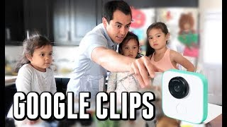 Easy Camera for Parents - Google Clips Unboxing!