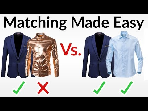 5 Rules To Match Clothing Well Matching Made EASY