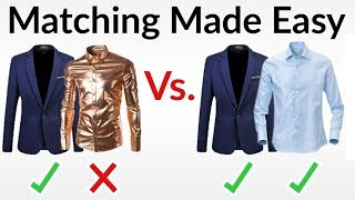 5 Easy Outfit Matching Rules | How To Match Colors, Textures, & Patterns