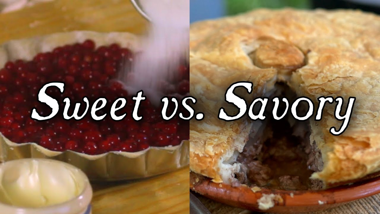 Sweet Pies Vs Savory Pies Q A Youtube