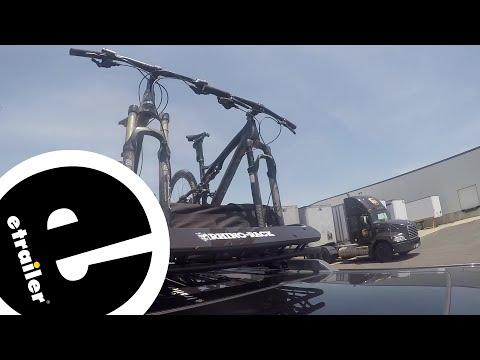 Rhino-Rack XTray Pro Cargo Basket and 2 Bike Carrier Test Course - etrailer.com