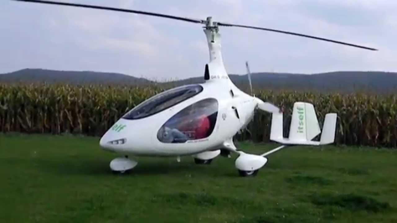 Virník Autogyro Cavalon 2014 - YouTube