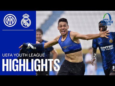 INTER 1-1 REAL MADRID | U19 HIGHLIGHTS | Nunziatini's overhead kick! | Matchday 1 UEFA Youth League