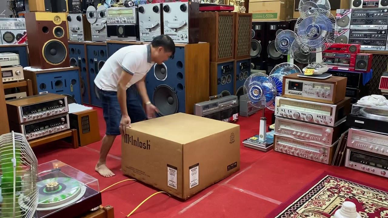 Khui Thùng siêu phẩm Mclintosh MA _ 9000 vip . Sau 4 ngày nghỉ shop đã mở hàng chở lại ngày 10/6/20