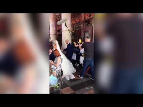 Свадьба Андрея Черкасова и Кристины Ослиной