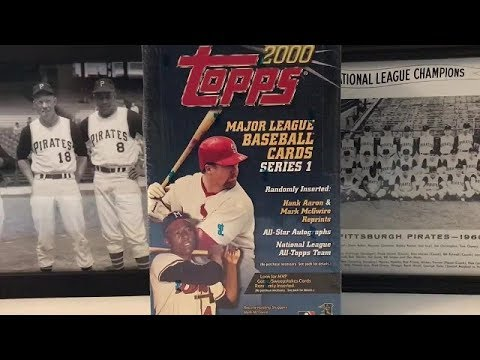 2000 Topps Baseball Hobby Box Break - Part 1!