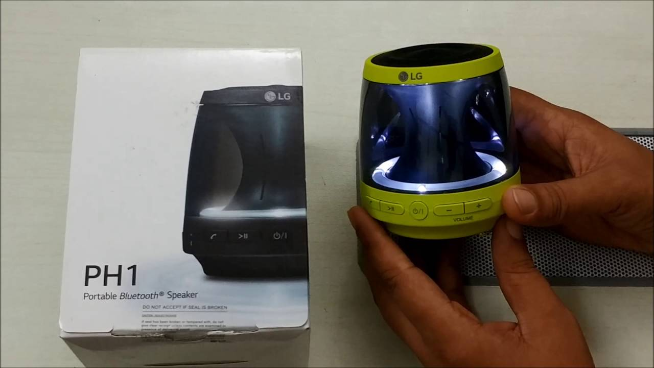 portable bluetooth speakers with lights.